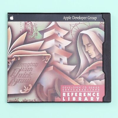 Apple Developer CD Series September 1994: Reference Library Edition Mac Software