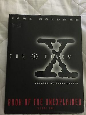 X-Files: Book of the Unexplained Vol.1 By Jane Goldman (1996) HC