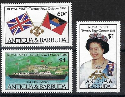 Antigua & Barbuda 1985 Royal Visit Mnh Stamps See Scan Posted Free To The Uk.