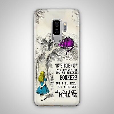 Alice In Wonderland Cheshire Cat Case Cover For Iphone Samsung Htc Huawei Lg