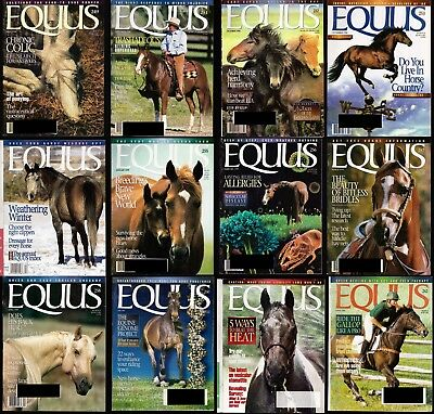 Lot of 13 Equus - #249, 251-262 - July 1998, September 1998 to August 1999