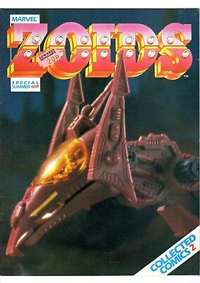 ZOIDS Special Summer Collected Comics 2 Marvel UK. July, 1986. Scarce. GOOD.