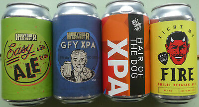 Four Small Brewery Beer Cans from Victoria & New South Wales, Australia (Lot 9)