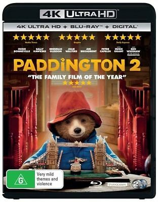 Paddington 2 4K Uhd Blu-Ray / Like New, Free Post