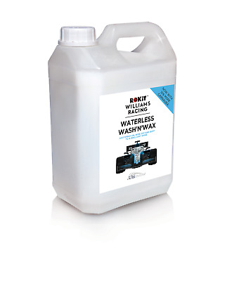 Williams Waterless Wash and Wax with Carnauba 2.5L