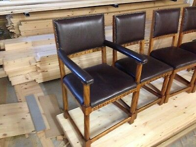 Set Of 6 Vintage Retro Dining Chairs