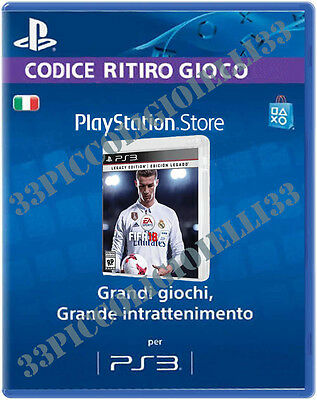 "fifa 18 ps3 Italiano Originale Completo """"No Mailing list"""""