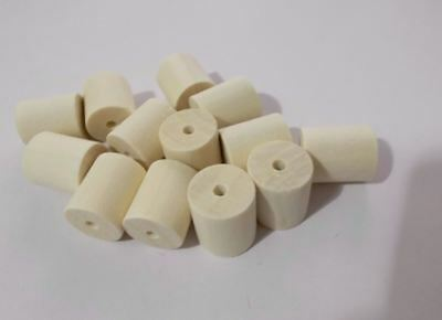 800pcs 10mm x 4mm WOODEN Spacer Tube Cylinder Beads NATURAL UNPAINTED WOOD B32