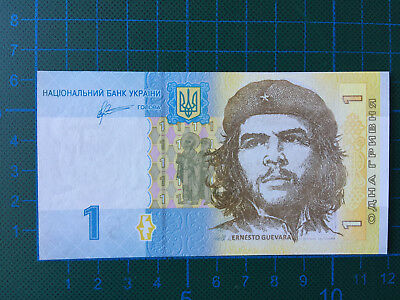 1 Griwen, Ukraine - now with Ernesto Che Guevara on the front