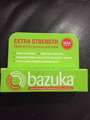 Bazuka Max Stength - Treatment Of Verrucas And Warts 6g