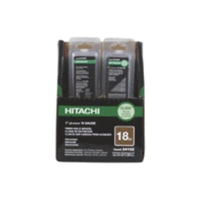"Hitachi 24105T Electro-Galvanized Brad Nails, 1-3/4"", 18 Gauge"