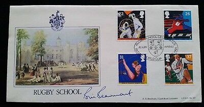Rugby Union Question of Sport Star Bill Beaumont Signed First Day Cover