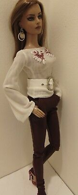 "OOAK Outfit By Meg Fashions!!! For Tonner's 16"" Tyler Wentworth & Friends!!!!"