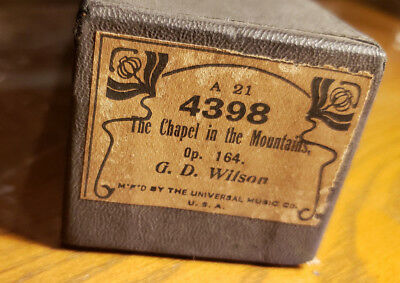 Universal Music Co : 4398 Chapel in the Mountains, The, Op. 164 G. D. Wilson