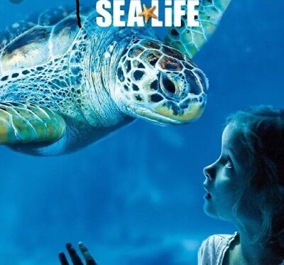 Sea life tickets x 2 (You choose the date and 7 Sea life centres)