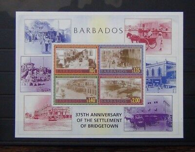 Barbados 2003 375th Anniversary of the settlement of Bridgetown M/S MNH