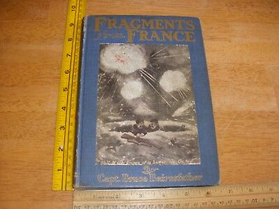 Fragments from France WWI Capt. Bruce Bairnsfather cartoon book 1917