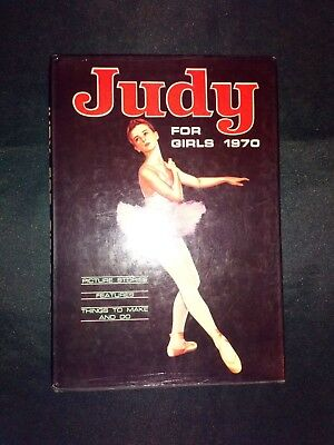 Judy For Girls Vintage UK Comic Annual 1970