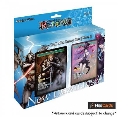 Force of Will TCG: New Valhalla Starter Entry Set - New Dawn Rises - Water Deck