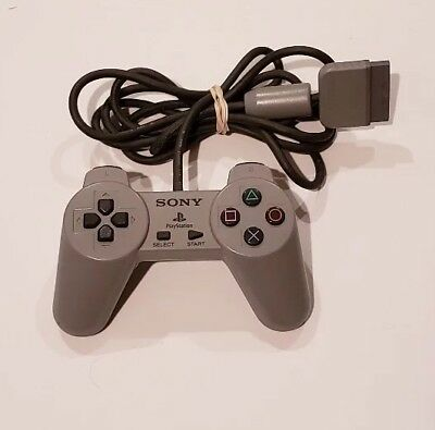 Sony PlayStation 1 Controller PS1 OEM Original Official Digital CLEANED TESTED