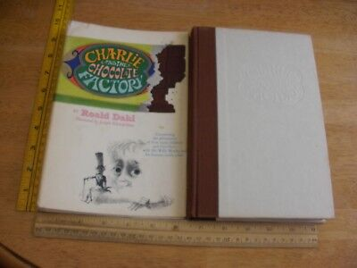 Charlie and Chocolate Factory HBDJ Roald Dahl book 1964 1st edition Wonka