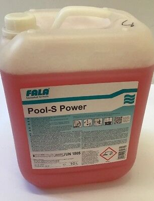FALA  Pool-S Power Pool Schwimband Grundreiniger Reiniger 10 Liter (R1-1/2)
