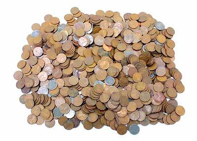 Wheat Penny,  Estate Hoard 1,000 Unsearched Bagged And Tagged!