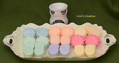 Soy Wax Tarts-Wickless Lotion Candle Melts-Set of 12-Use As Lotion-Choose Scent!