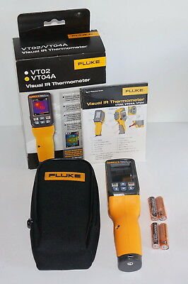 Fluke Flk-Vt04A Visual Infrared Thermometer With Pyroblen Plus Brand New!