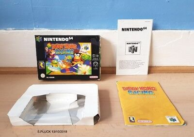 Diddy Kong Racing N64 Box/Manual & Insert Only No Game