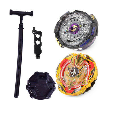 Burst Beyblade Children Spinning Tops Gift Game Fusion Master W/ Launcher