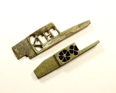 Ancient Roman bronze key door-lock bolts - MASSIVE DESIGN