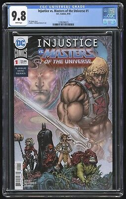 Injustice VS Masters of the Universe #1 (D.C. - 9/2018) CGC 9.8