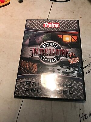 Trains Magazine Ultimate Railroading DVD Series . Railroads And Steel