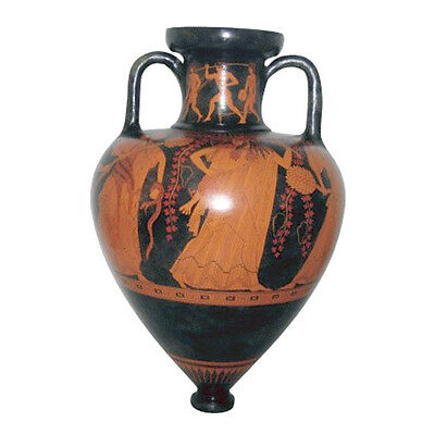 Pointed Amphora Vase Ancient Greek Museum Replica Reproduction
