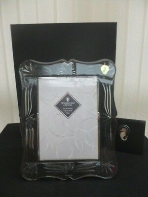 "WATERFORD CRYSTAL WEDDING PICTURE PHOTO FRAME 7"" x 5"" (13 x 18cm) NEW BOXED GIFT"