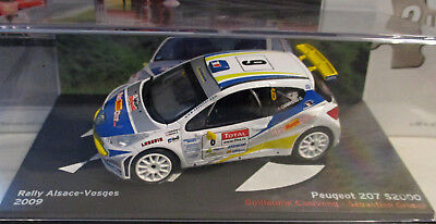 Altaya Peugeot 207 S2000 - Canivenq - Rally Alsace-Vosges 2009 - 1:43