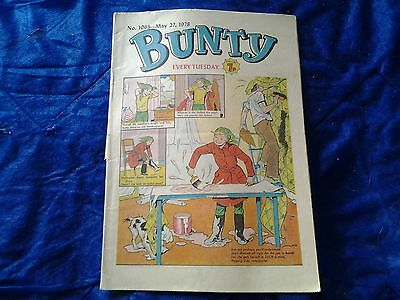 BUNTY comic No.1063-May 27th 1978