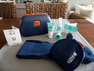 QATAR AIRWAYS Business Class BRIC'S Amenity Kit Trousse Neceser Kulturbeutel