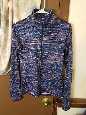 New Without tag Women's Nike Dri-Fit Compression Half Zip Jacket Size Medium
