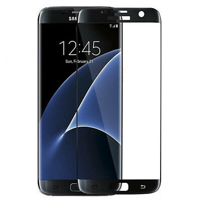 Premium Full Cover Tempered Glass Screen Protector For Samsung Galaxy S7 Edge