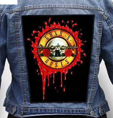 Guns N Roses - Giant Indestructible Photo Quality Backpatch Back Patch