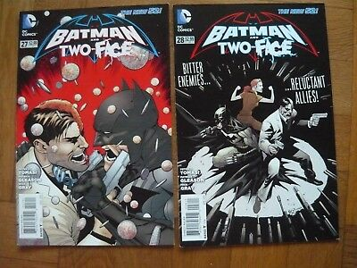 DC Comics: Batman and Two-Face (The New 52!) NO 27/28 Englisch 2014