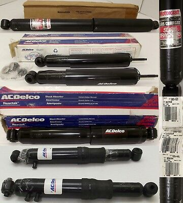 3 Sets ACDelco Shock Absorbers 560-521,508-440,22008899+Motorcraft F2TA-18080-HB