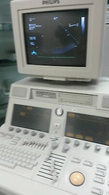 Used, Philips Sonos 7500 Ultrasound - Echocardiograph