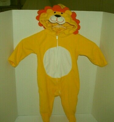 Carters Baby 6-9 month Lion Halloween Costume EUC Worn Once