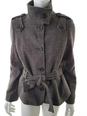 a71ad4dae Ted Baker London Ladies Womens USA Size 4 Brown wool jacket Vintage