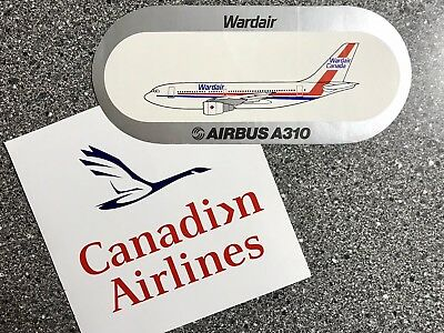Canadian/Wardair Stickers - New