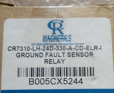 CR Magnetics CR7310-EH-24D-330-A-CD-ELR-I Ground Fault Sensor Relay