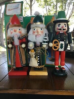 3- Midwestern Home Products, Nutcrackers With Box